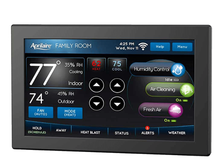 HVAC-Tips, How the Aprilaire Wi-Fi Thermostat Compares to