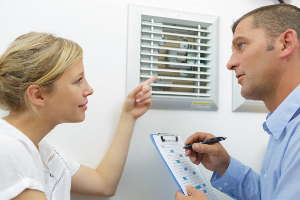 HVAC system blow too little air