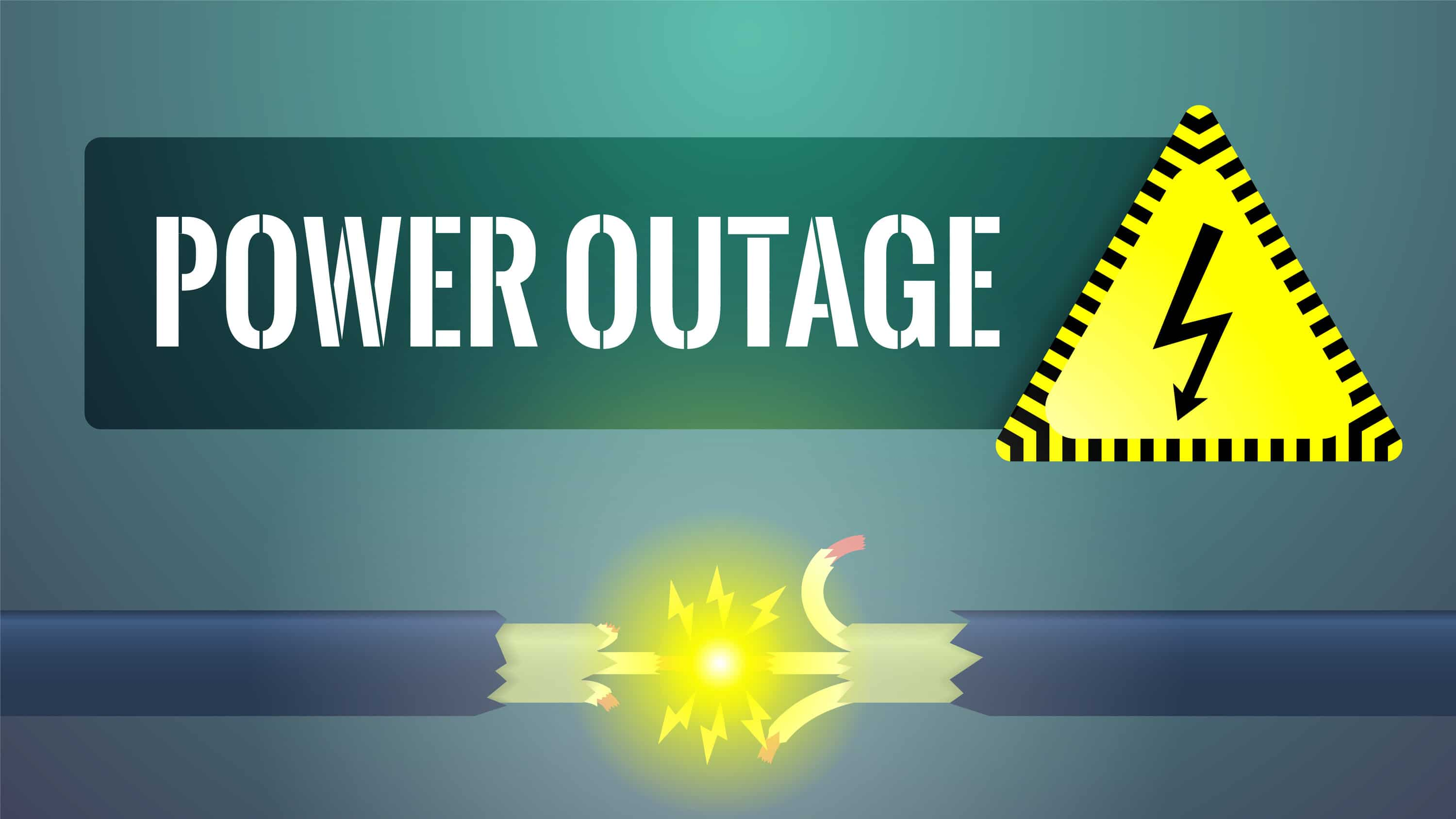 Protect against power outages